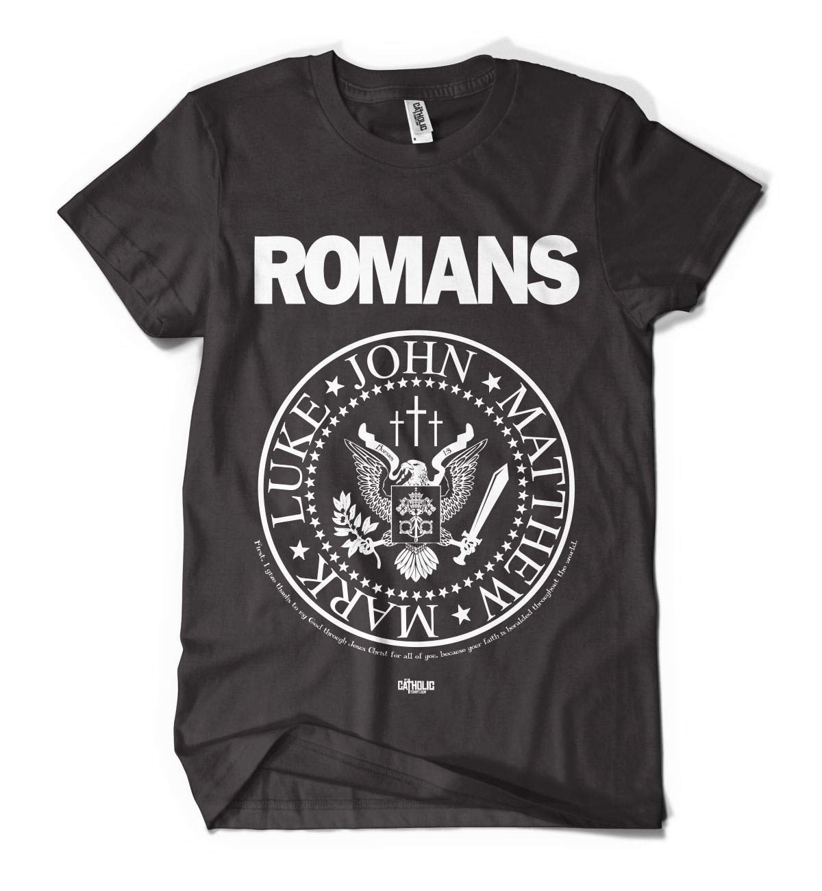 Romans Tshirt Catholic Christian T Shirt My Catholic