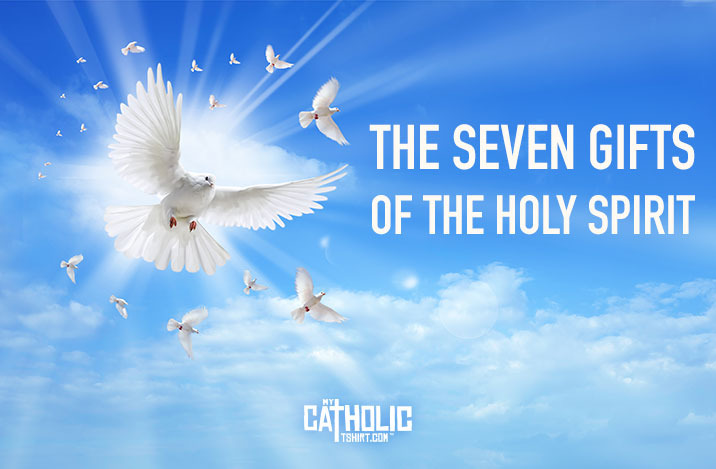 The 7 gifts of the Holy Spirit [Infographic] MyCatholicTshirt