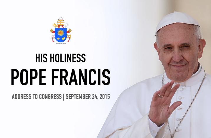 Pope Addresses Congress