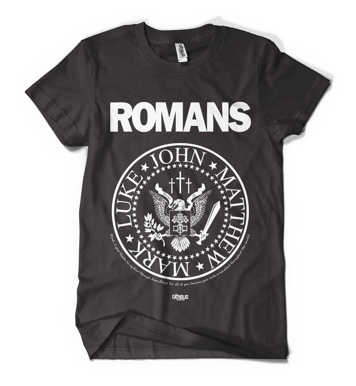Romans 1:8 T-shirt - Catholic t-shirts - My Catholic TshirtMy ...